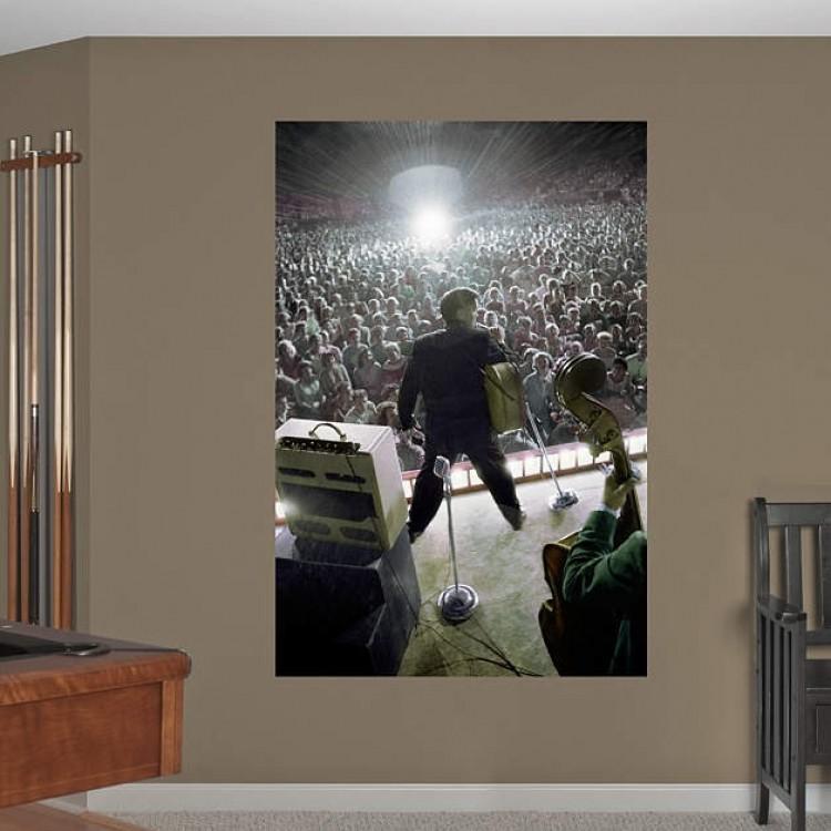 Elvis Concert Mural REAL.BIG Fathead
