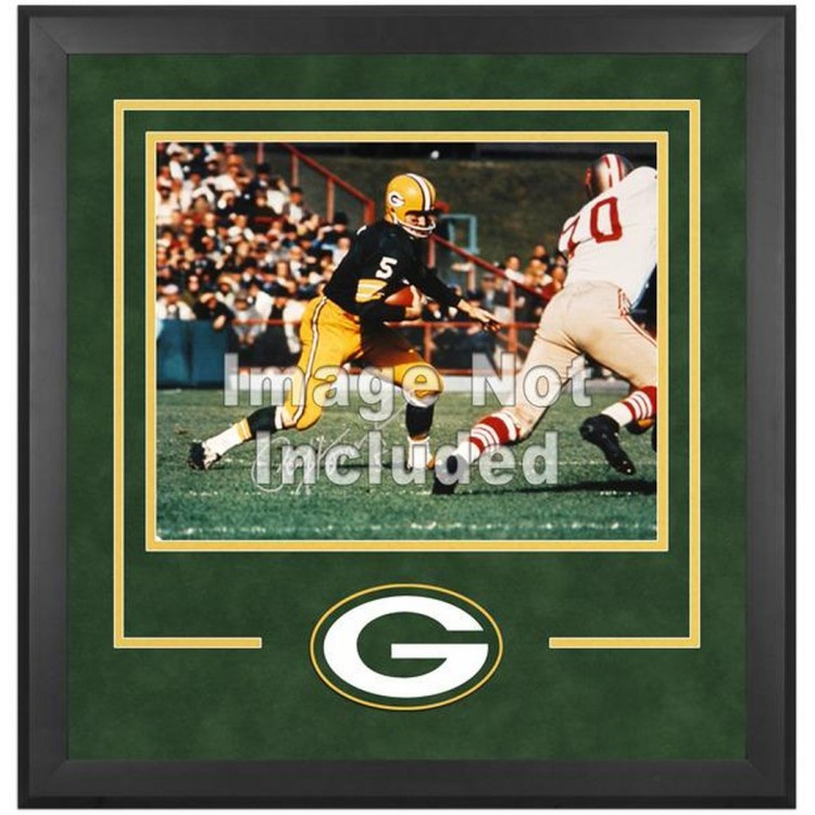 """Green Bay Packers Deluxe 16"""" x 20"""" Horizontal Photograph Frame with Team Logo"""