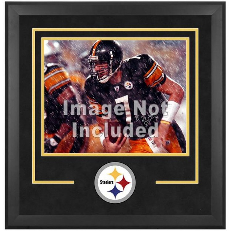 """Pittsburgh Steelers Deluxe 16"""" x 20"""" Horizontal Photograph Frame with Team Logo"""