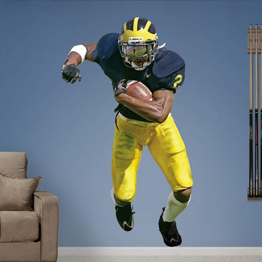best loved 63e2f 3648b Charles Woodson Michigan Wolverines REAL.BIG. Fathead