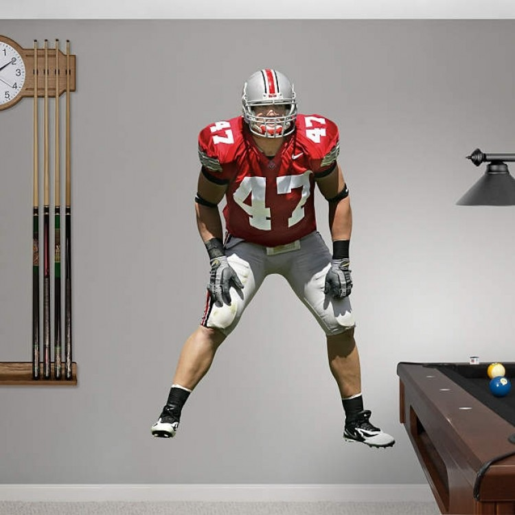 A.J. Hawk Ohio State Buckeyes REAL.BIG. Fathead