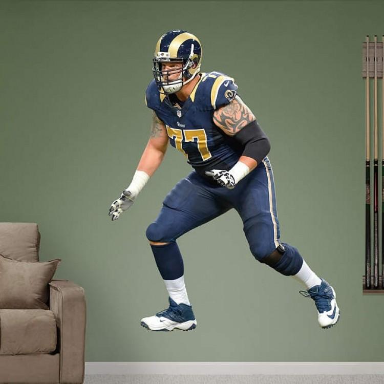 Jake Long St. Louis Rams REAL.BIG. Fathead