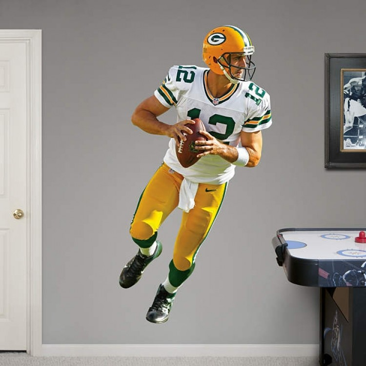 Aaron Rodgers 2012 REAL.BIG. Fathead