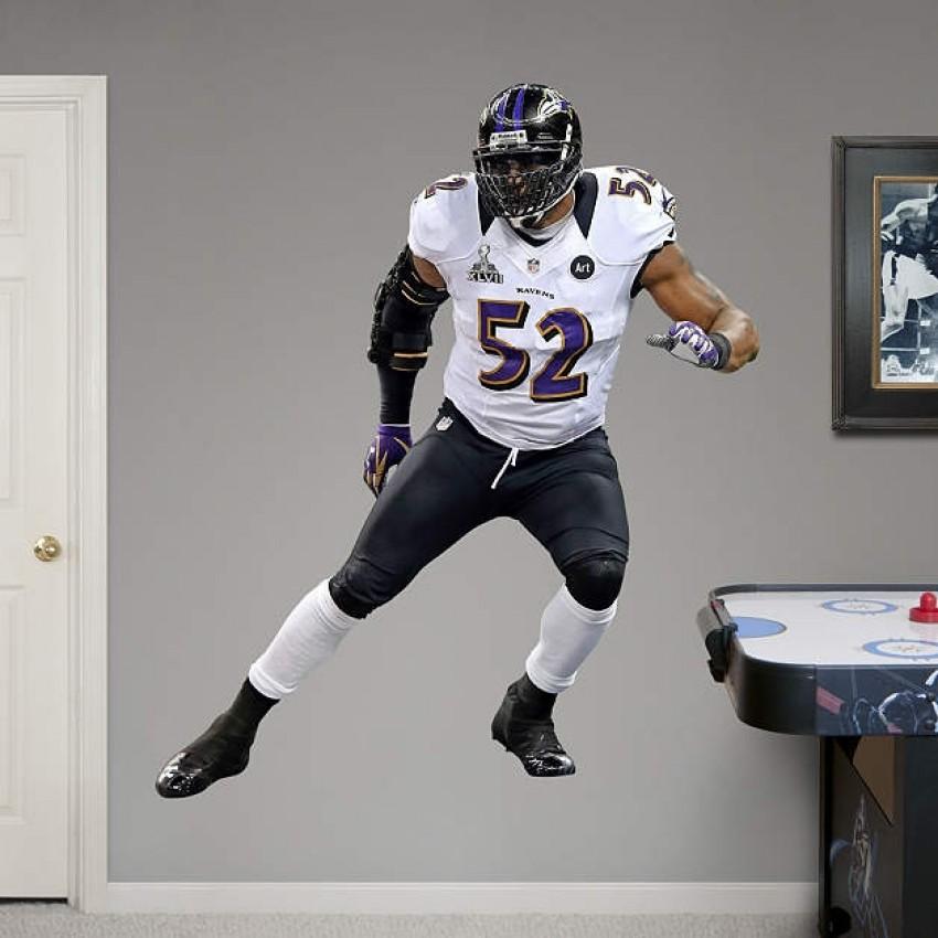 NFL Ray Lewis Super Bowl 47 RealBig REAL.BIG. Fathead