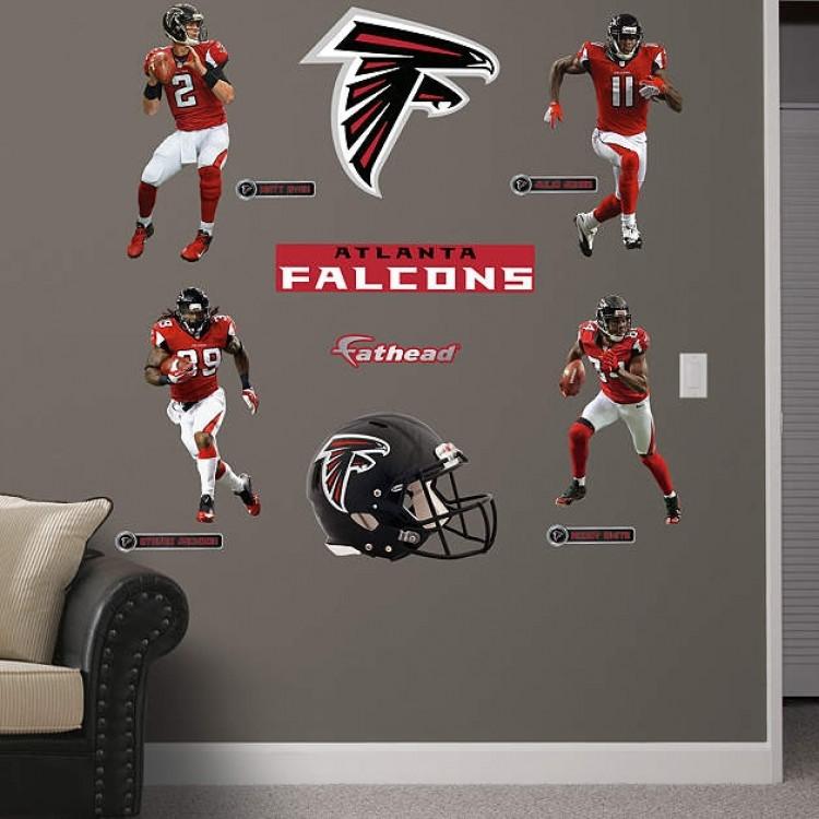 NFL Atlanta Falcons 2013 Power Pack REAL.BIG. Fathead