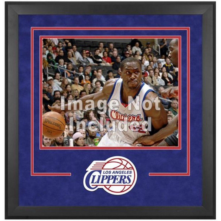 """Los Angeles Clippers Deluxe 16"""" x 20"""" Frame -"""