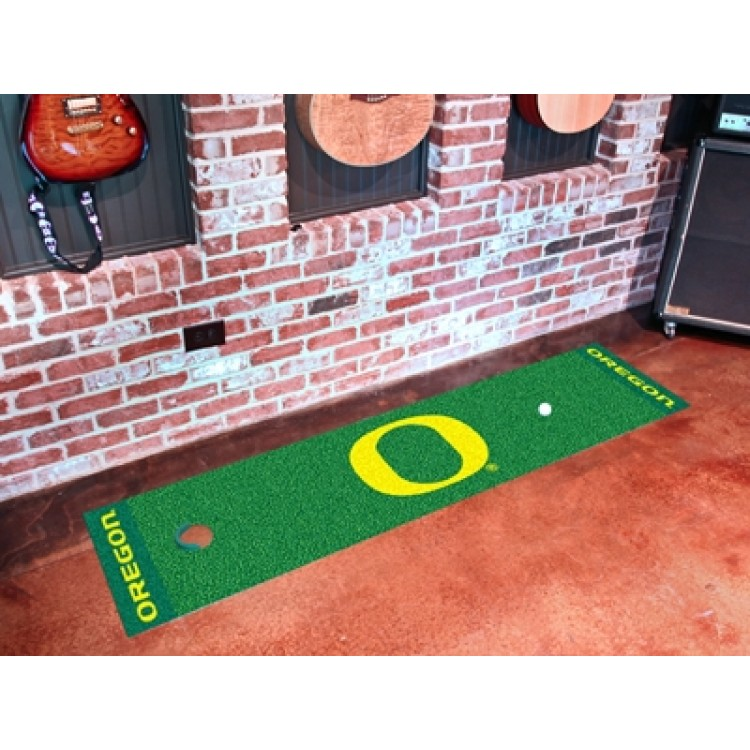 Oregon Ducks Putting Green Mat