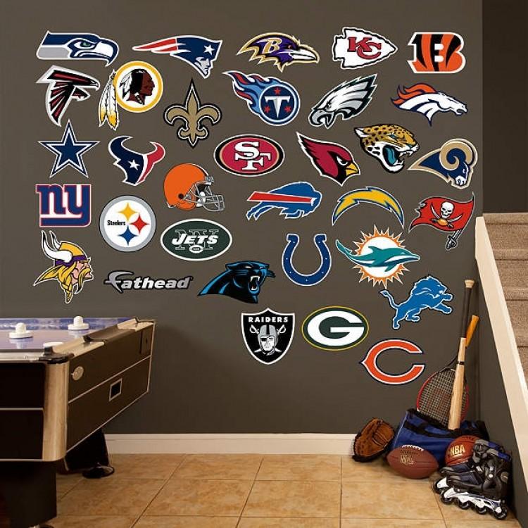 NFL Logo Collection REAL.BIG. Fathead