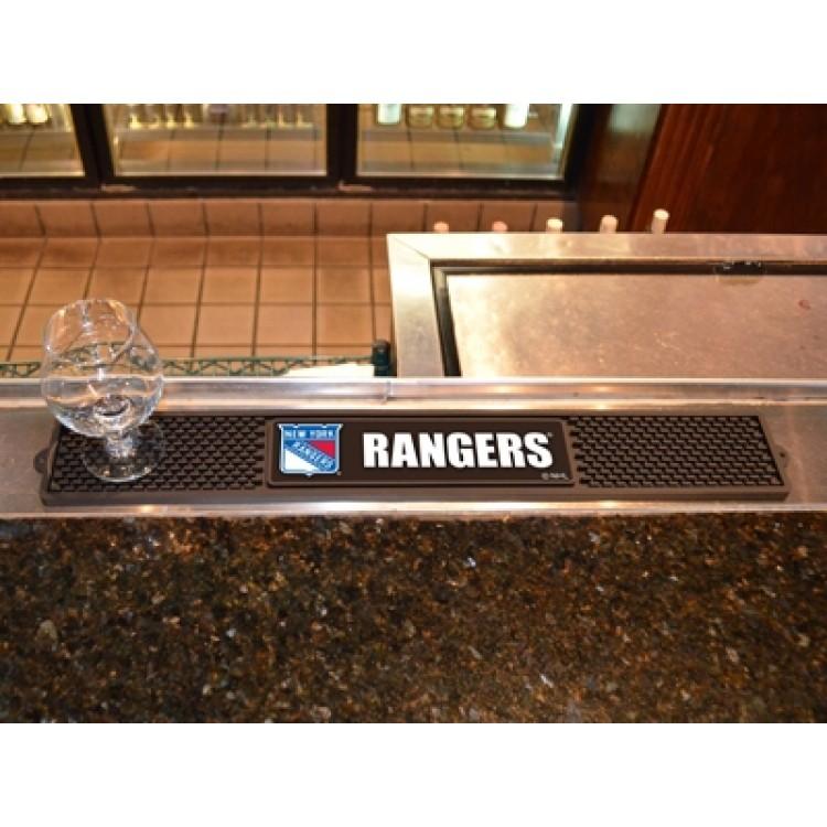 """New York Rangers 3"""" x 24"""" Drink Mat"""