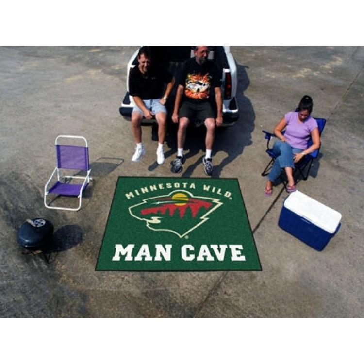 Minnesota Wild Man Cave Tailgater Mat