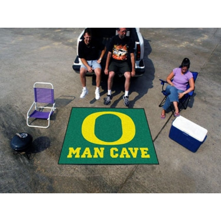 Oregon Ducks Man Cave Tailgater Mat