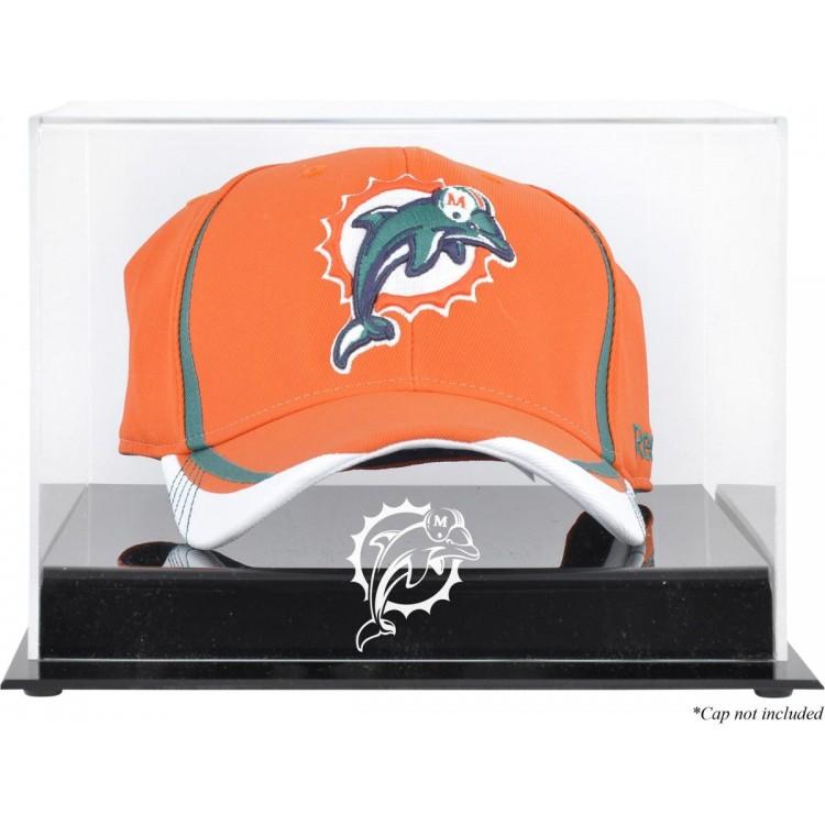 Miami Dolphins Acrylic Cap Logo Display Case