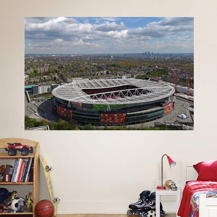Arsenal Aerial Stadium Mural REAL.BIG. Fathead