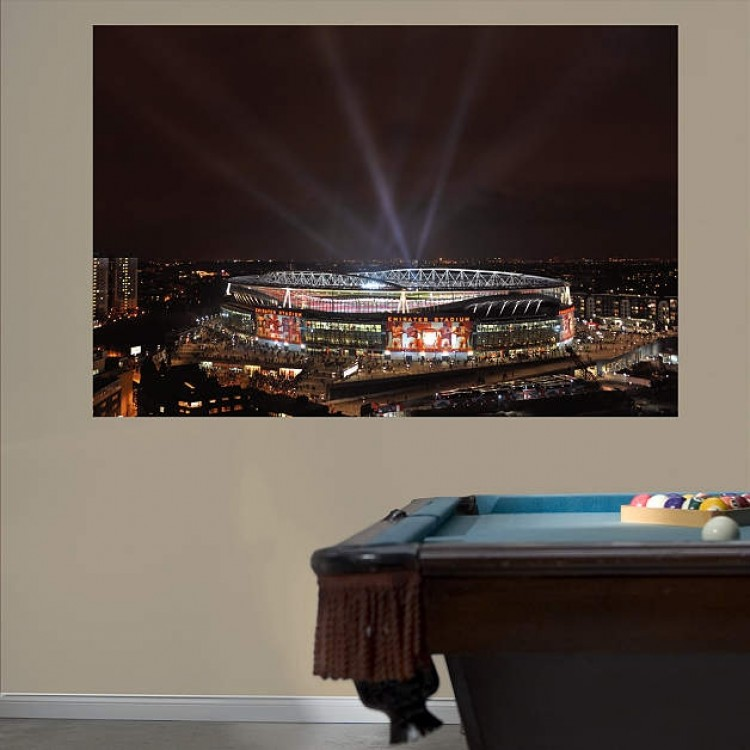 Arsenal Night Sky Stadium Mural REAL.BIG. Fathead