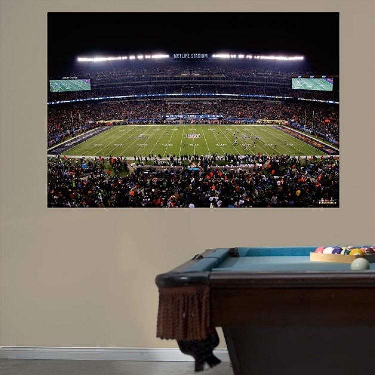 NFL Seattle Seahawks Super Bowl 48 Stadium Mural REAL.BIG. Fathead