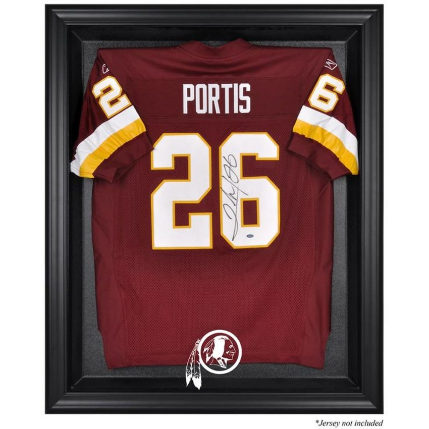 306a747d Washington Redskins Black Frame Jersey Display Case