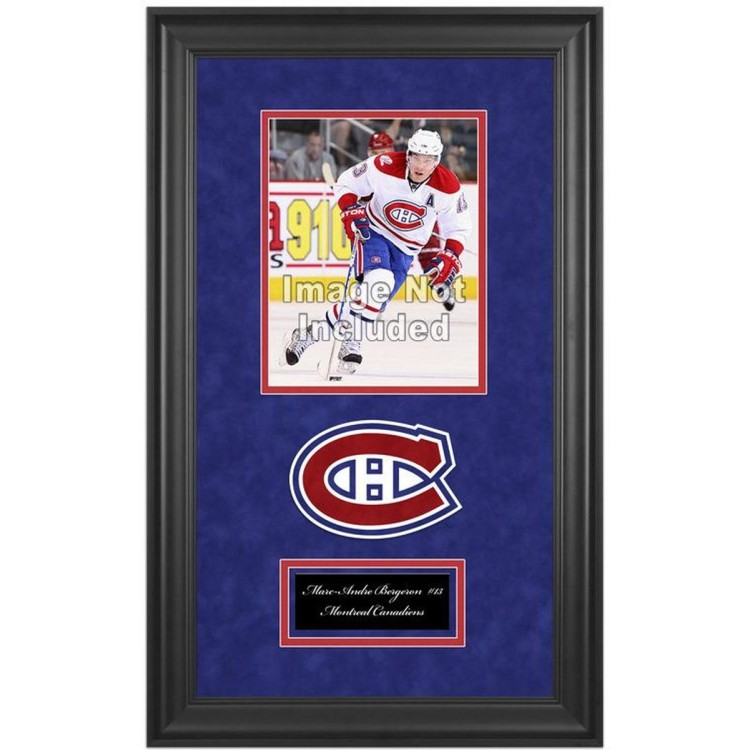 """Montreal Canadiens Deluxe 8"""" x 10"""" Team Logo Frame"""