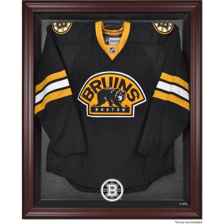 Boston Bruins Mahogany Jersey Display Case