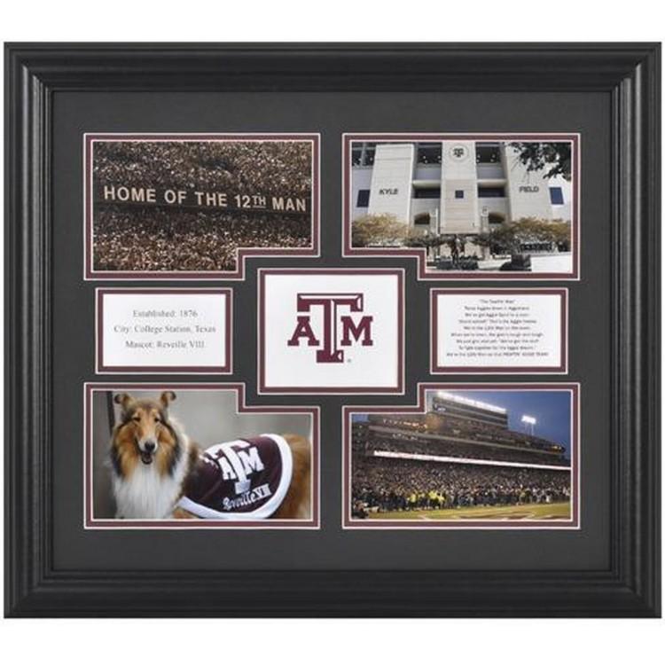 Texas A&M Aggies 4-Photograph Framed Collage