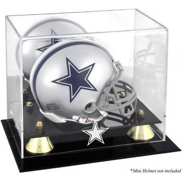 Dallas Cowboys Mini Helmet Display Case