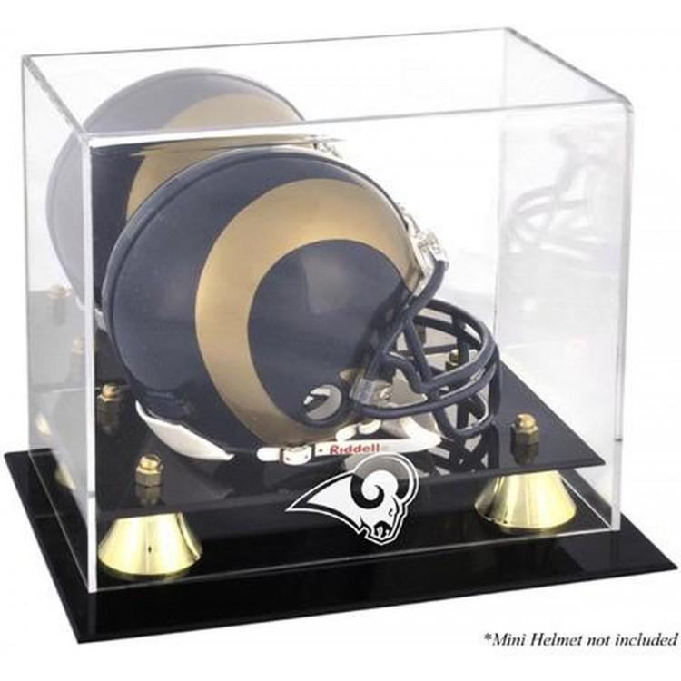 St. Louis Rams Mini Helmet Display Case