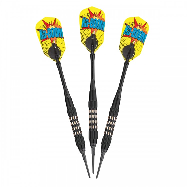 Comix Soft Tip Darts Black 18 Grams