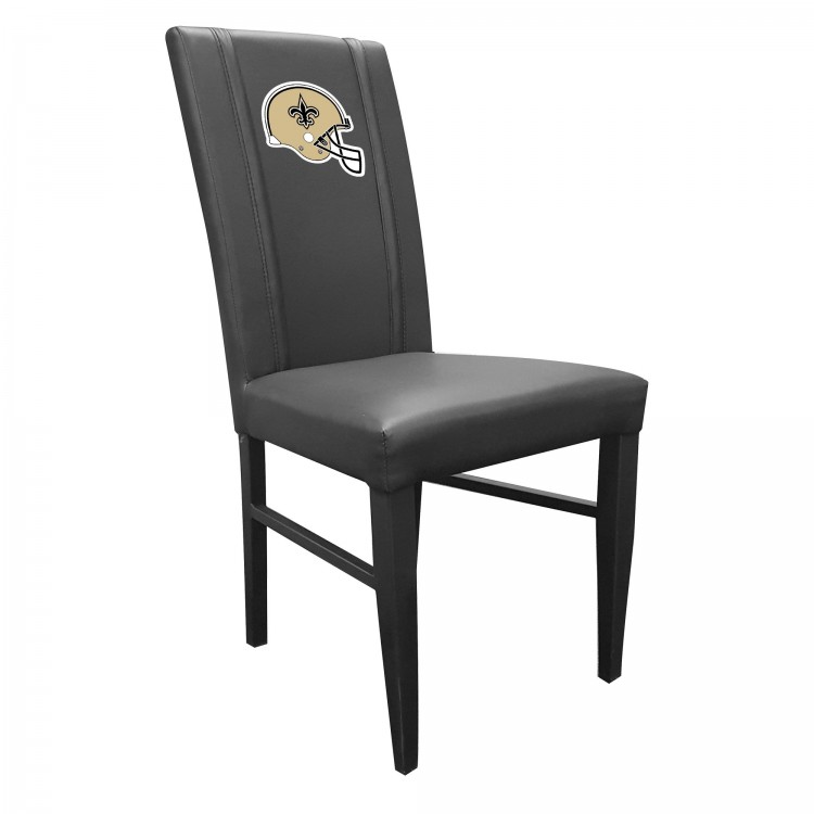 New Orleans Saints Side Chair 2000 with Saints Helmet Logo
