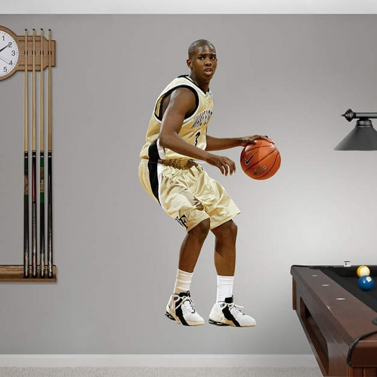 Chris Paul Wake Forest Demon Deacons REAL.BIG. Fathead