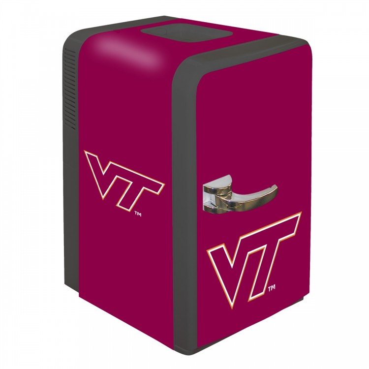 Virginia Tech Hokies 15 Quart Portable Party Fridge