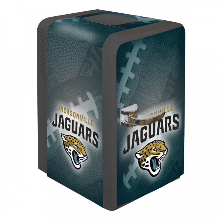 Jacksonville Jaguars 15 Quart Portable Party Fridge