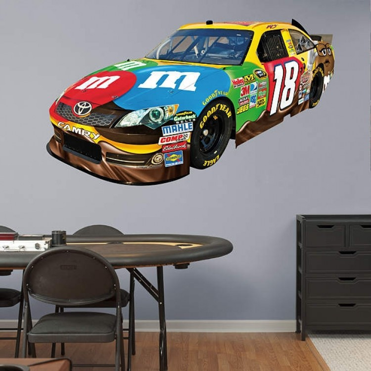 2012 Kyle Busch #18 Car REAL.BIG. Fathead