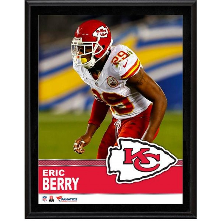"Eric Berry Kansas City Chiefs Sublimated 10.5"" x 13"" Plaque"