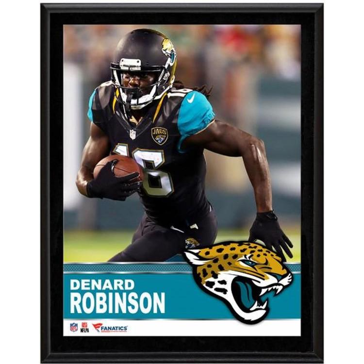 """Denard Robinson Jacksonville Jaguars Sublimated 10.5"""" x 13"""" Plaque"""