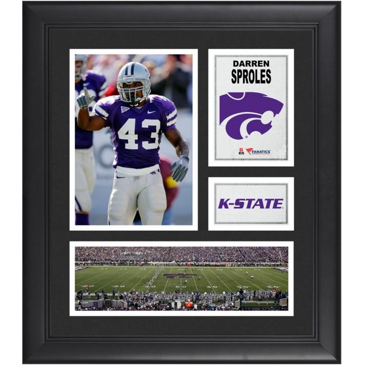 "Darren Sproles Kansas State Wildcats Framed 15"" x 17"" Collage"