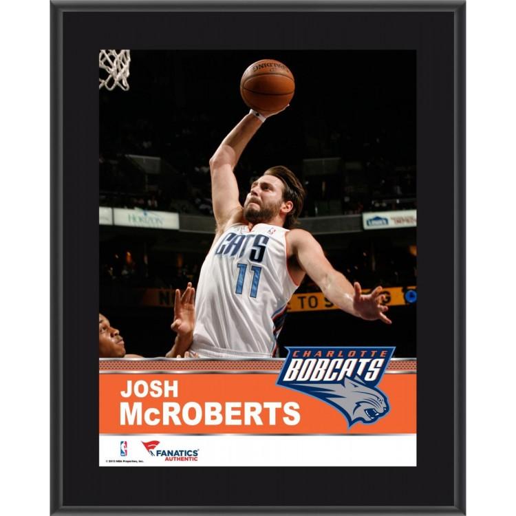 "Josh McRoberts Charlotte Bobcats Sublimated 10.5"" x 13"" Plaque"