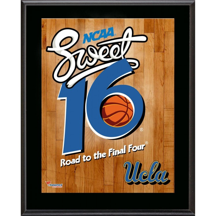 "UCLA Bruins 2014 Sweet 16 Sublimated 10.5"" x 13"" Plaque"