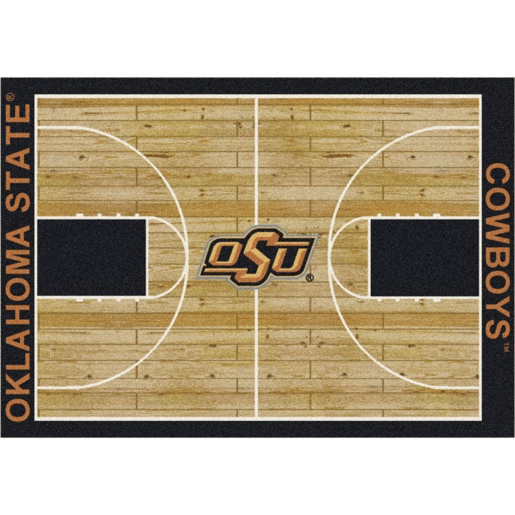 "Oklahoma State Cowboys 5'4""x7'8"" College Home Court Area Rug"
