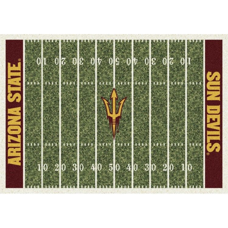 "Arizona State 5'4""x7'8"" College Home Field Area Rug"