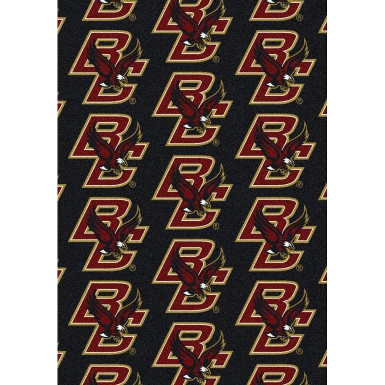 "Boston College Eagles 10'9""x13'2"" College Repeating Area Rug"