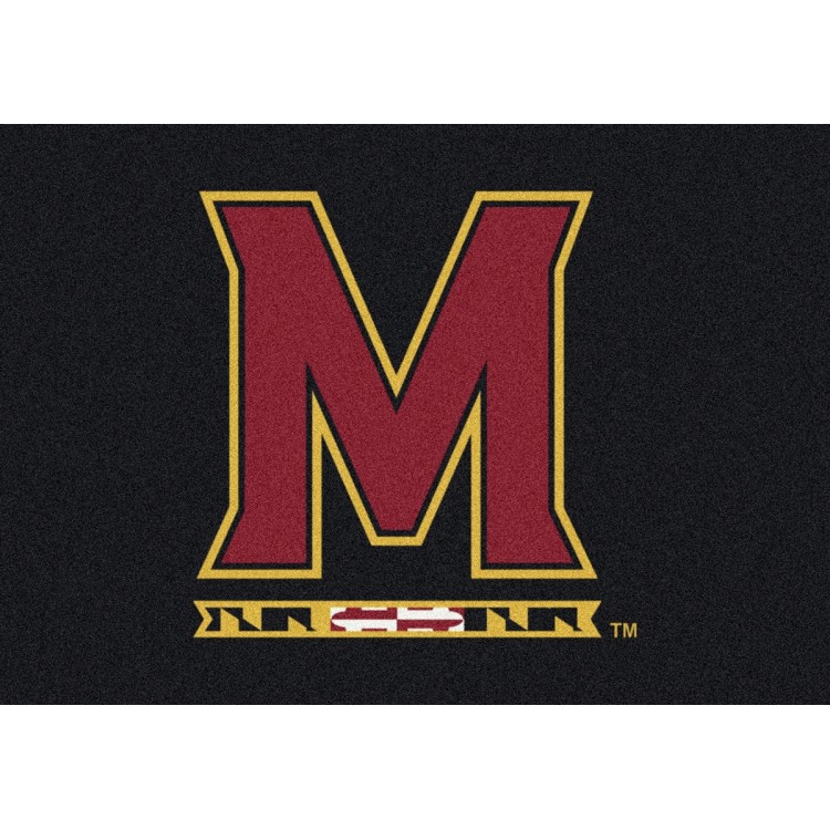 "Maryland 3'10""x5'4"" College Team Spirit Area Rug"