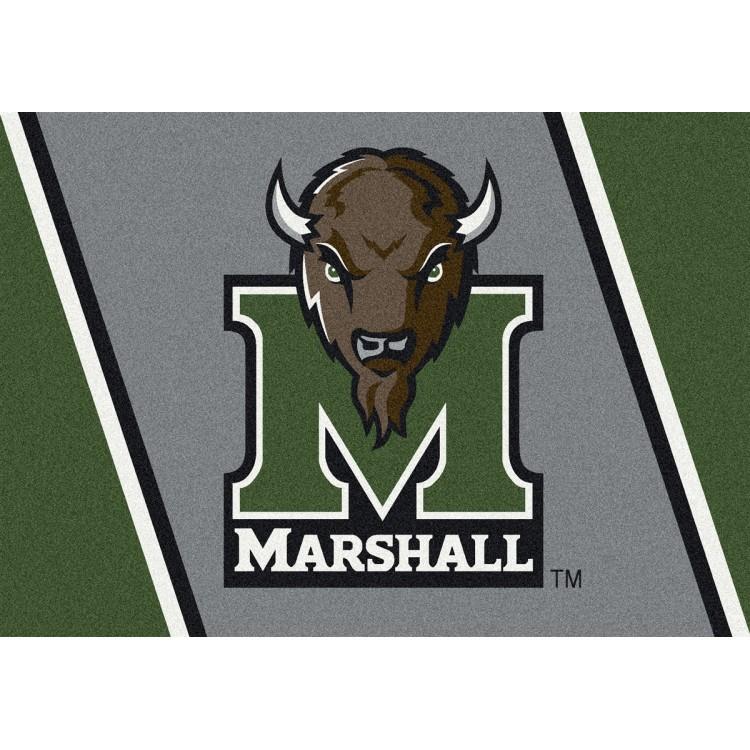 """Marshall 7'8""""x10'9"""" College Team Spirit Area Rug"""