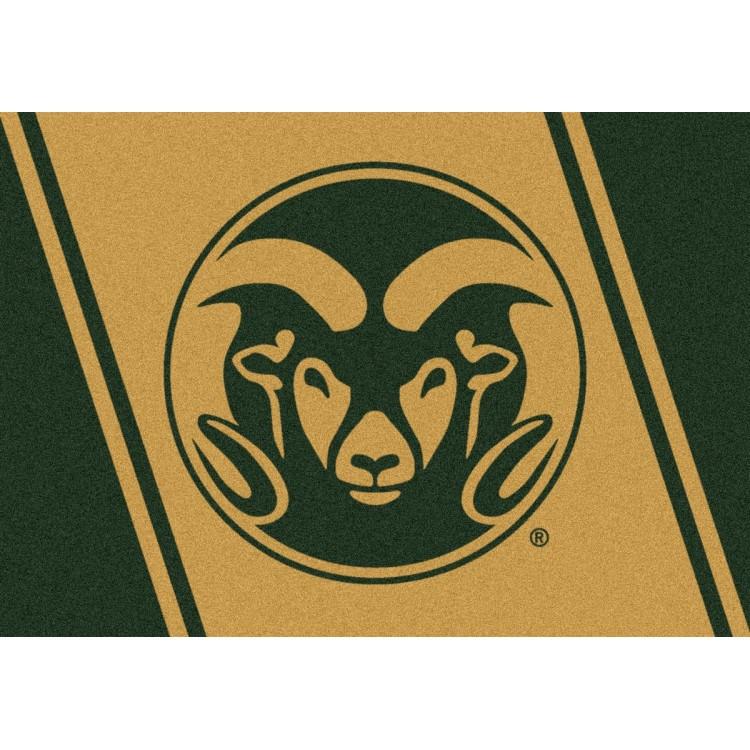 "Colorado State Rams 7'8""x10'9"" College Team Spirit Area Rug"