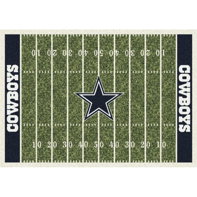 "Dallas Cowboys 3'10""x5'4"" NFL Team Home Field Area Rug"