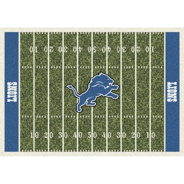 "Detroit Lions 3'10""x5'4"" NFL Team Home Field Area Rug"