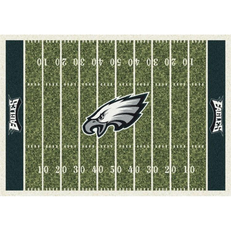 """Philadelphia Eagles 3'10""""x5'4"""" NFL Team Home Field Area Rug"""