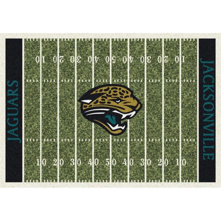 """Jacksonville Jaguars 5'4""""x7'8"""" NFL Team Home Field Area Rug"""