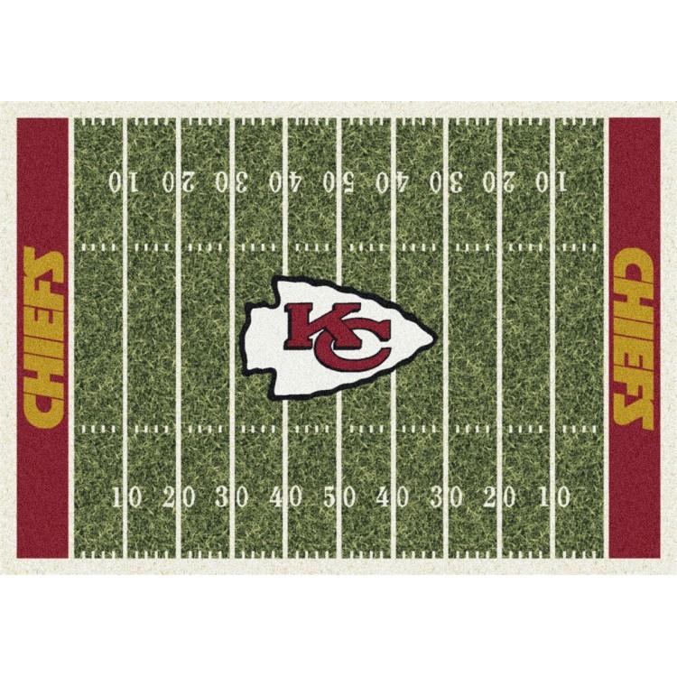 "Kansas City Chiefs 5'4""x7'8"" NFL Team Home Field Area Rug"