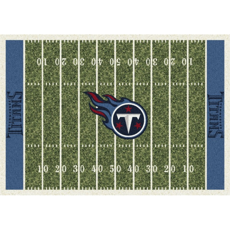 """Tennessee Titans 5'4""""x7'8"""" NFL Team Home Field Area Rug"""