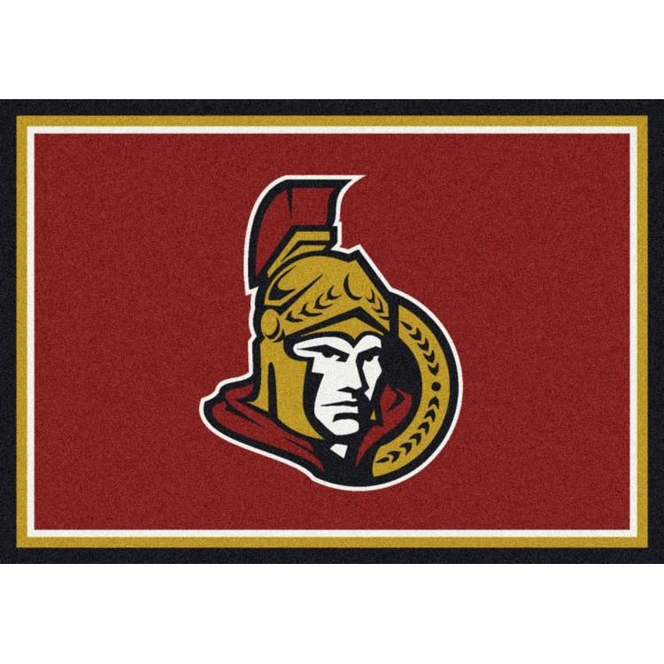 "Ottawa Senators 5'4""x7'8"" NHL Team Spirit Area Rug"