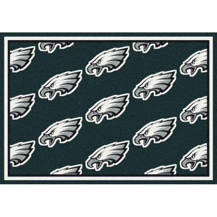 """Philadelphia Eagles 5'4""""x7'8"""" NFL Team Repeat Area Rug"""